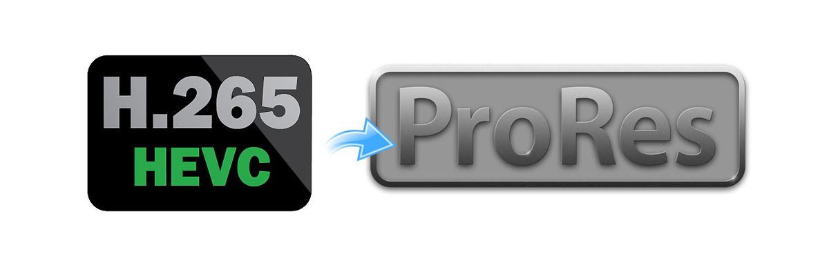 Convert H.265 to ProRes 422 with ProRes Converter